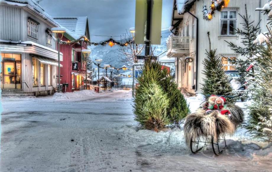 Julegateåpning i  Landsbyen Ringebu