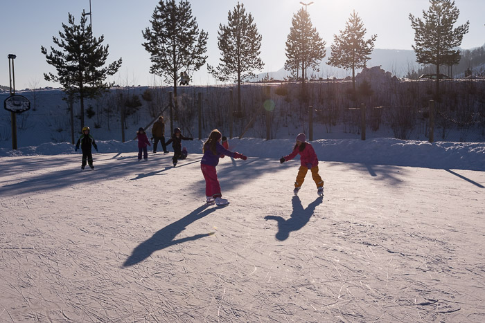 isskøyting Sveillbana