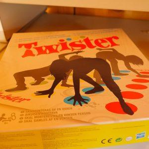 Twister brettspill