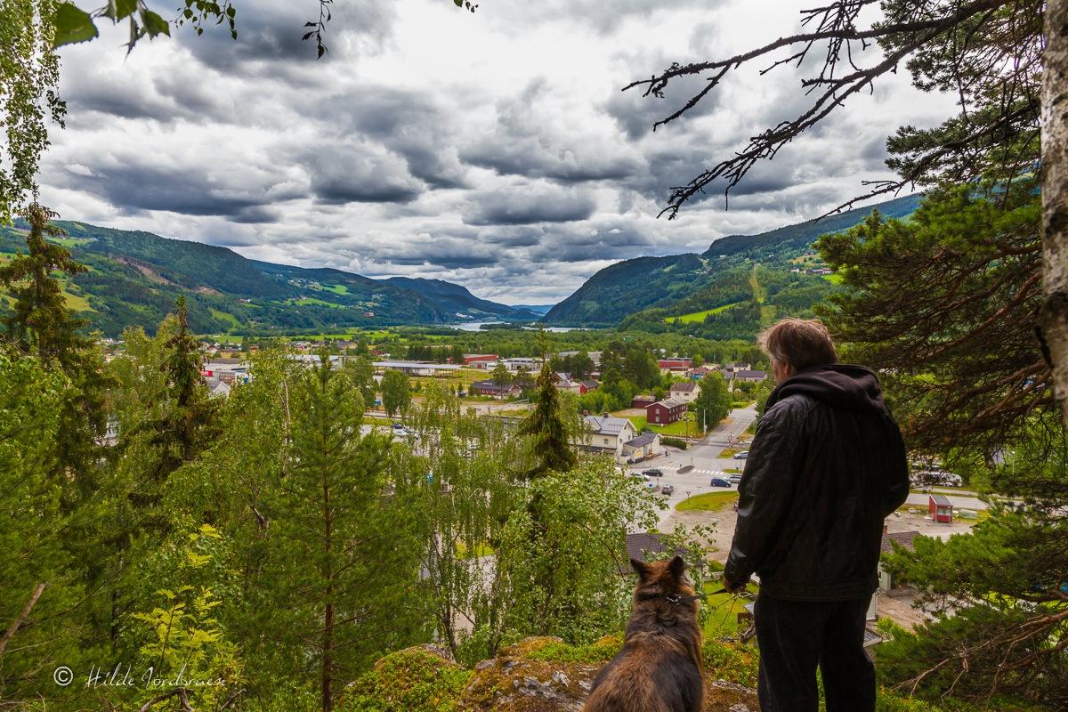 Utsikten fra Ulberg i Ringebu - Foto: Hilde Jordbruen